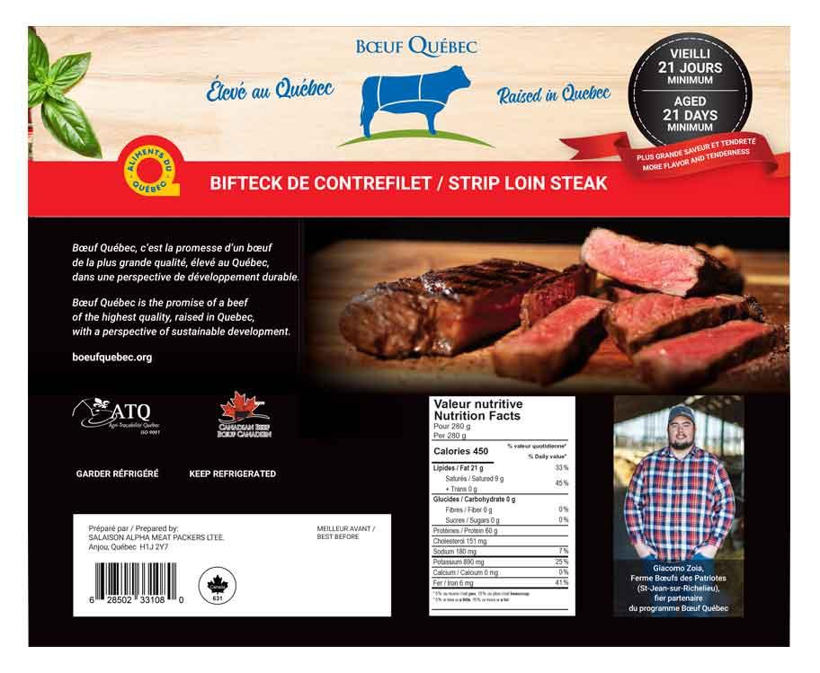 Bifteck de contrefilet