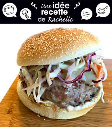 Recette de burger au Somked Meat